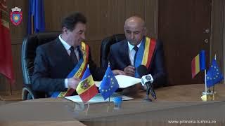 Protocol colaborare comuna Lumina – satul Sireti, Republica Moldova