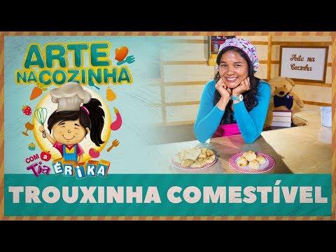 TROUXINHA COMESTÍVEL | Arte na cozinha com a Tia Érika