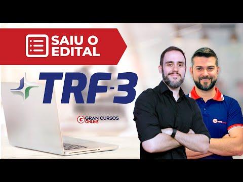 , title : 'Concurso TRF 3: Analista e Técnico – Saiu o Edital!