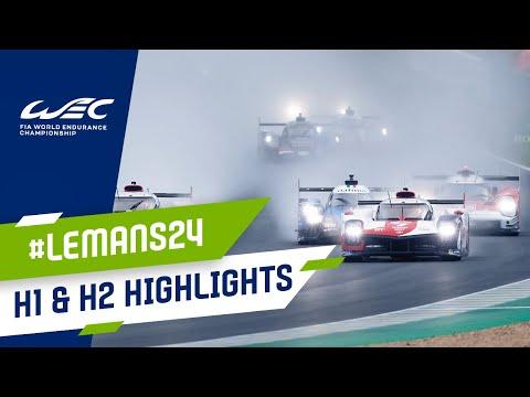 ル・マン24時間 レース前半2時間のハイライト動画