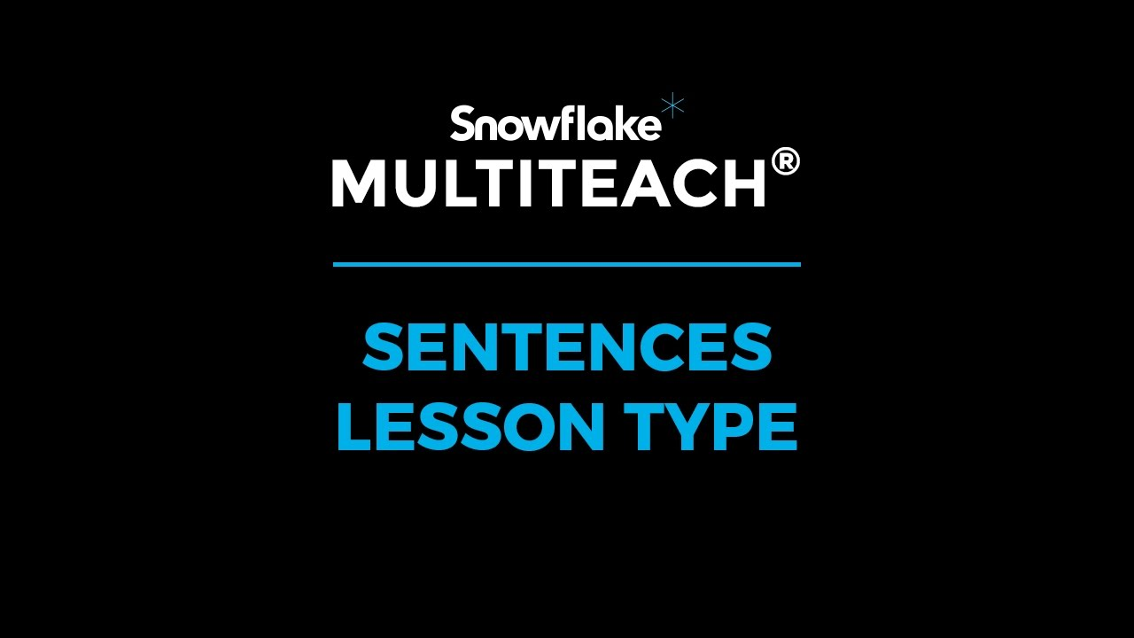 Snowflake Training - Videos | NUITEQ