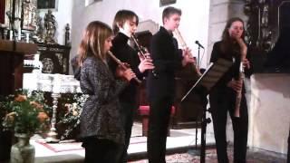 """Video Quattro Formaggi - William Byrd:Pavana, Erasmus Widman:Danz  """"Jo"""