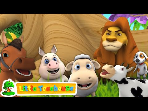 animal sound songs nursery rhymes for babies compilation of videos for kids by little treehouse