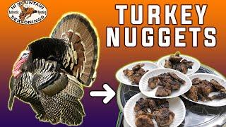 Turkey Nuggets - In the field!