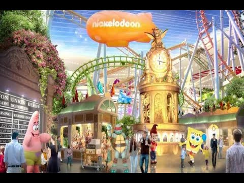 Nickelodeon Universe opens this week as largest indoor theme park in North America