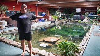 Monster Home Pool Pond! - Ohio Fish Rescue Tour 2019