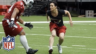 The Football Journey of Jen Welter   NFL Canada   Play 60   Kholo.pk