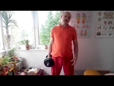 Massage sakralen Wirbelsäule Osteochondrose