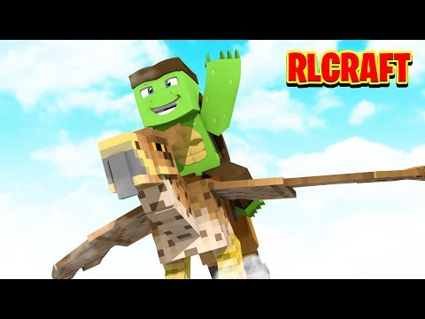 TAMING A HIPPOGRYPH! - Minecraft RlCRaft