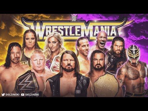 WrestleMania | WWE 2K19 Universe Mode | Delzinski