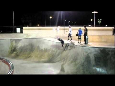Pauline Branom (Hess Skateboards) Practice Montclair 081511
