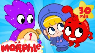 Frozen In Time - My Magic Pet Morphle | Cartoons For Kids | Morphle TV | Kids Videos
