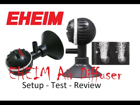 EHEIM Air Diffuser for Air Pump 100/200/400 – Setup, Test, In depth review (Air stone, Aeration)