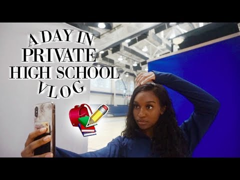 A DAY IN A PRIVATE HIGH SCHOOL VLOG! (junior year) | Coco Chinelo