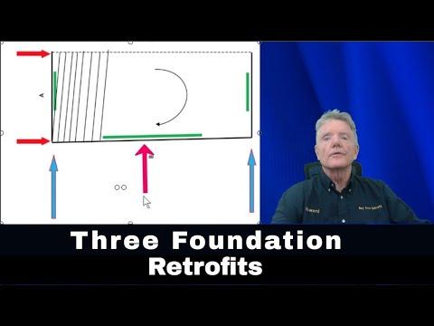 RETROFITS USING JUST THREE FOUNDATIONS