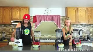 Harley Pasternak blender out blends Vitamix vs Blendtec models - Best Blender Ice Cream Blend