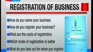 Entrepreneurship 101: Steps when registering a business