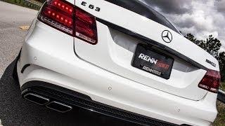 RENNtech 2014+ E63 Downpipe Teaser