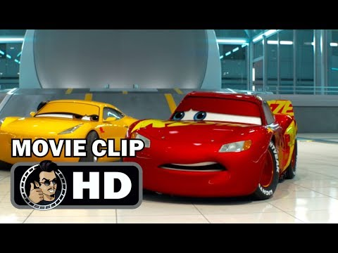 CARS 3 Movie Clip - My Senior Project (2017) Disney Pixar Lightning McQueen HD