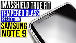 Best Samsung Galaxy Note 9 InvisShield True Fit Full Adhesive Tempered Glass Screen Protector