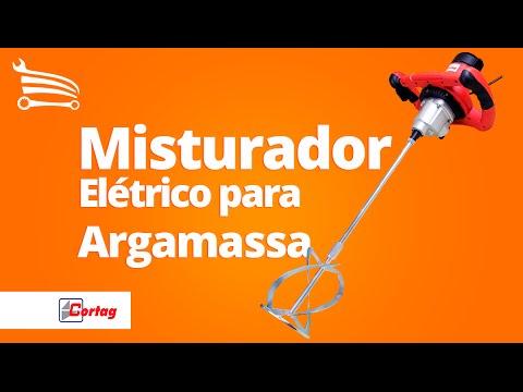Misturador Elétrico para Argamassa  - Video