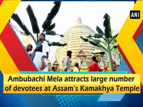 Ambubachi Mela attracts large number of devotees at Assam's Kamakhya Temple