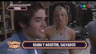 Kiara y Agustín salvados por los especialistas y vuelven a las casas - Despedida de Solteros