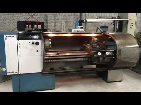 Graziano 1500 CNC Lathe Machine
