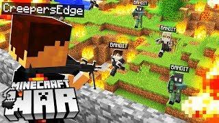 Minecraft BANDITS attacked our BASE! (Minecraft War #12)