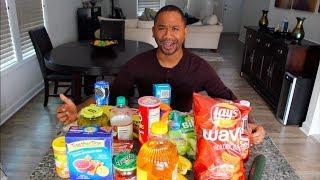 Trying 25 WEIRD Food Combos | Alonzo Lerone