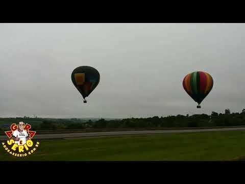 Balão Gigante na Rodovia Castelo Branco