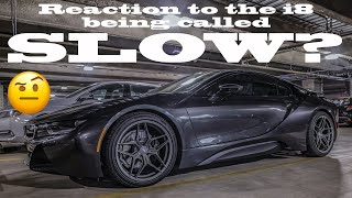 Reaction To The BMW i8 Being Called Slow