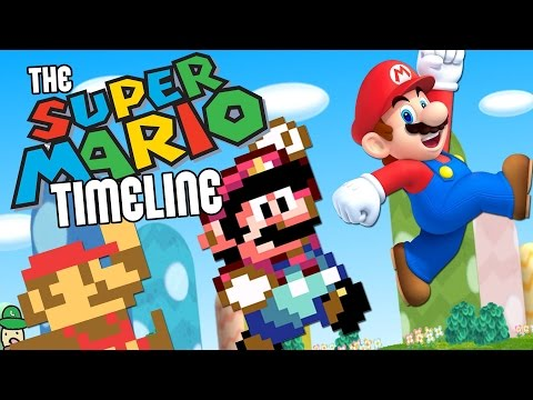 It Takes 9 Minutes To Break Down The Amazing Super Mario Timeline