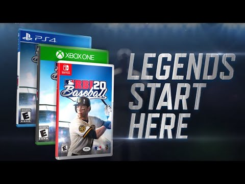 Christian Yelich appears on the cover of R.B.I. Baseball 20!