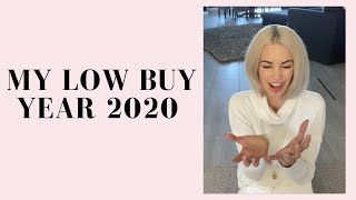 My Low Buy Year 2020 | STOP HEMORRHAGING MONEY 💸