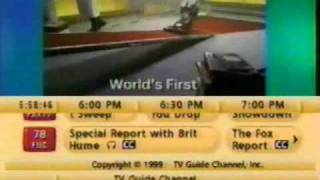 TV Guide Channel listings (January 27, 2000)