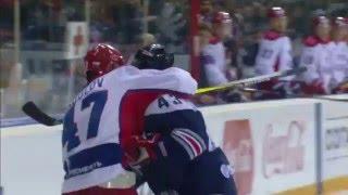Radulov questionable tackle on Mozyakin