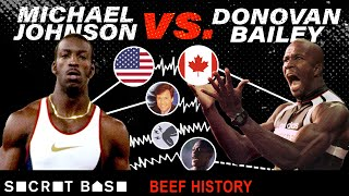 Even a $1 million race couldn't end the Michael Johnson and Donovan Bailey beef