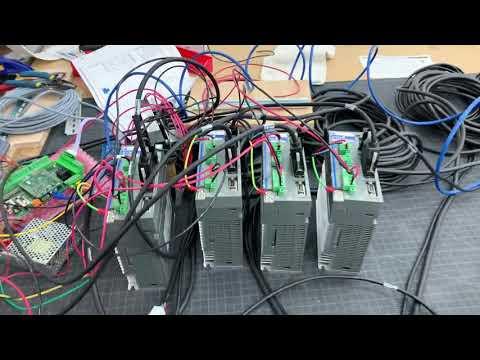 Centroid Acorn with DMM servo's and Dyn4 drives - смотреть