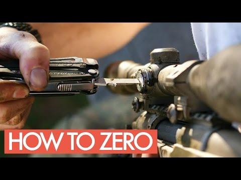 Jak nastavit puškohled?