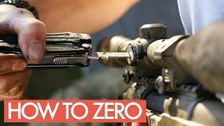 How To Adjust Airsoft HOPUP + Zeroing Scope / Reddot