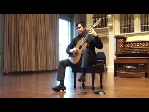 1st Movement of Sonata III by Manuel Ponce