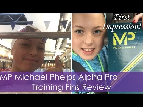 MP Michael Phelps Alpha Pro Training Fins Review | First Impression!