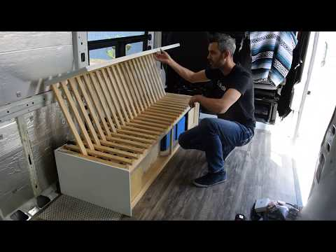 How To Build A Slatted Sofa Bed