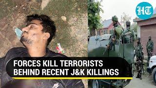 J&K: 2 terrorists behind Srinagar killings shot dead in gunfights, hunt for other militants on