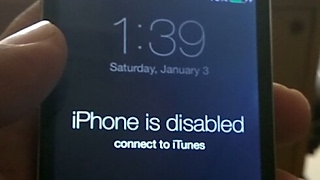 iPhone 4 passcode bypass without losing data   How to Remove iPhone is Disabled on iphone4/3gs