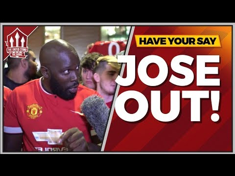 Jose Mourinho Out! Manchester United vs Tottenham 0-3 FANCAM
