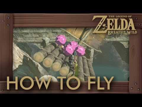 Zelda Breath of the Wild - How to Build An Airship and Fly to Ganon
