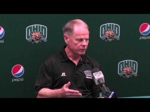 Ohio University Football: Head Coach Frank Solich Week One Interview
