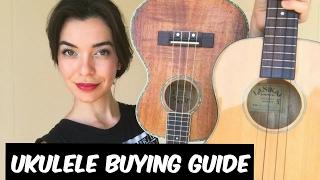 Ukulele Buying Guide: Which Size Should I Buy?!? - (Available On Amazon)